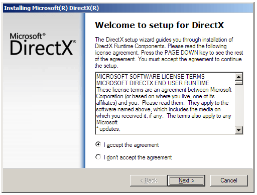 Directx end-user runtimes x86/x64 free download [95 mb] 5k pc soft.
