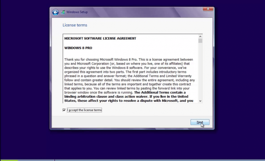 Install Windows 8 - 2 -  Pre-Install 5 - WindowsWally