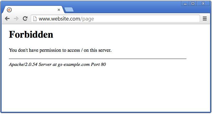 Server Errors - 403 Forbidden - SolvuSoft