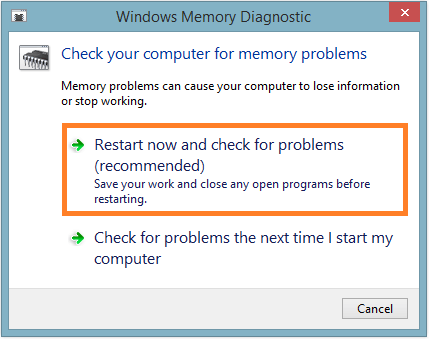 Cnss_File_System_Filter - Memory Diagnostics Tool - Restart now -- Windows Wally