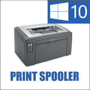 how to run print spooler service in windows xp