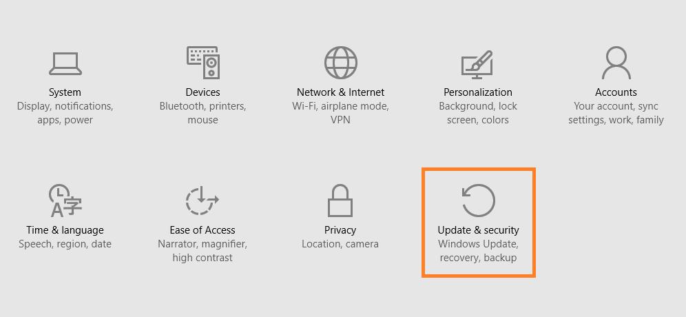 Windows 10 - Go Back - Start Menu - Settings menu - Windows 10 -- Windows Wally