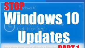 Windows 10 - Stop Windows 10 Update - Part 1 - Featured -- WIndows Wally