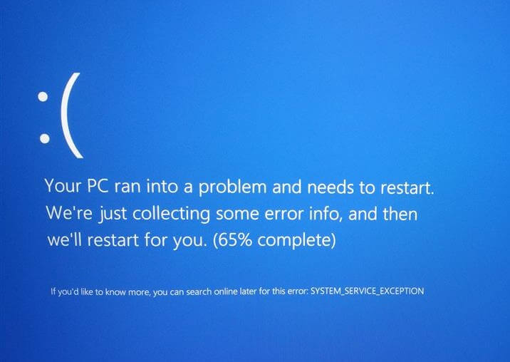 Windows 10 - System_Service_Exception - BSoD - Cover -- Windows Wally