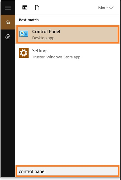 0x80240438 - Control Panel - Start Menu - Windows 10 - Windows Wally