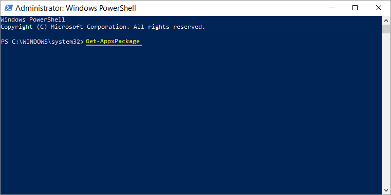 0x80072f89 -- Windows 10 CU - PowerShell - Get-AppxPackage - Windows Wally