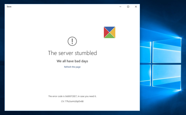 Windows 10 -- A Server Stumbled -- Cover - Windows Wally