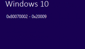 0x80070002 -- 0x20009 - Windows Installation Error - Featured - Windows 10 - Windows Wally