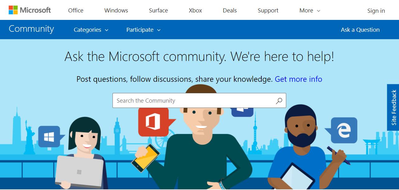 Computer Problems -- Microsoft Answers Forum - Screenshot - Windows Wally