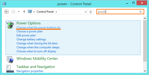 Lagging In Windows 8.1 - Power Options - Change what the Power buttons do -- Windows Wally